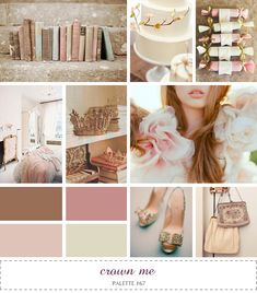 love this color combo, would be beautiful done right for Gabrielle's room
