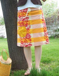 Sew What!  handmade skirt