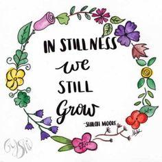 In Stillness We Still Grow Chronic Illness, Be Still, Hand Lettering, The Creator, Shiloh, Eyes, Art, Art Background, Handwriting