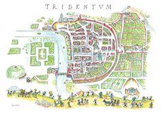 "Puzzle ""Tridentum"". #formiche #puzzle #storia #italy #trento #history #roma"