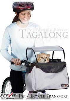 Great idea: Pet Bicycle Transport.