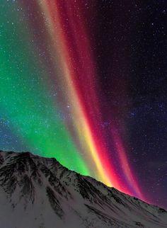 Rainbow Northern Lights