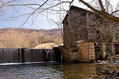 Wallens Creek Mill  This Lee County mill (Thompson's Mill) is located on Wallens Creek in an area known as Horse Hollow in Jonesville, Va.