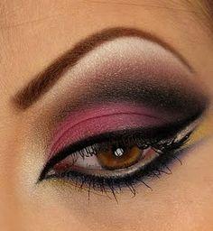 Arabic Eye Makeup by Leslie M