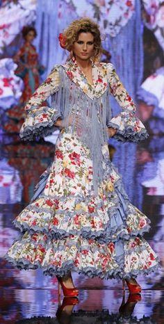 Moda flamenca - flores
