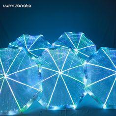 light up umbrella, led umbrella, fiber optic umbrella ,luminous umbrella Umbrella Street, Types Of Aesthetics, Glamour World, Umbrella Lights, Colorful Umbrellas, Sensory Rooms, Singing In The Rain, Accesorios Casual, Japanese Architecture