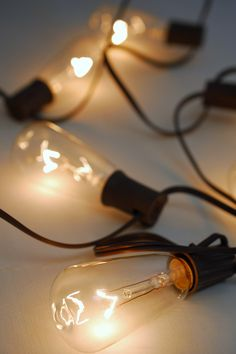 Patio Cafe String Lights 10ft, 10ct-  ST40 Clear Bulbs, Brown Cord