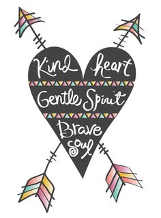 Jealousy Quotes : QUOTATION - Image : Quotes about Jealousy - Description Positive Quotes : 'Kind heart. Brave soul' art print by Bohemian Gypsy Jane Sharing is Caring - Hey can you Share this Quote No Ordinary Girl, Soul Art, Bohemian Gypsy, Bohemian Baby, Bohemian Clothing, Lettering, Beautiful Words, Inspire Me, Namaste