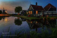 Zaanse Schans pastoral and romantic  by robschueller #travel #traveling #vacation #visiting #trip #holiday #tourism #tourist #photooftheday #amazing #picoftheday