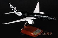 1-200 airplane model New Zealand aviation B787-9 ZK-NZE black #Handmade
