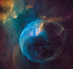 "This Week's Hubble Marvel: ""The Spectacular Bubble Nebula --An Ancient Precursor for Life?"" 11/13/16"