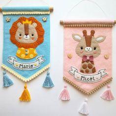 Felt Christmas Ornaments, Christmas Crafts, Felt Wall Hanging, Felt Crafts Patterns, Crochet Bunny Pattern, Felt Banner, Felt Pictures, Felt Wreath, Felt Baby