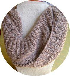 Roll it cowl by Yana Langer | Knitting Pattern