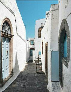 Chora~Patmos island~Greece