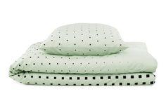Mint Cube Bed Linen #normanncopenhagen