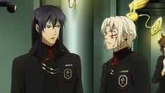 Gray-man Hallow anime info and recommendations. Allen Walker is an exorcist working for the Black . Anime Couples Manga, Cute Anime Couples, Anime Guys, Manga Anime, Anime Art, D Gray Man Allen, Tms Entertainment, K Project Anime, Man Hunter