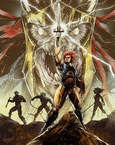 Striking 1980s Cartoon Series Art - ThunderCats, He-Man and Voltron — GeekTyrant