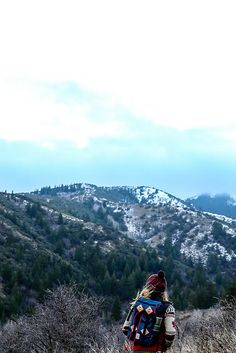 """topo-designs: """"Up in Idaho with @thenoisyplume Topo Designs Klettersack 15L """""""