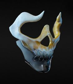 Death Masks, Laura Peltomäki - New ideas Fantasy Character Design, Character Design Inspiration, Character Concept, Character Art, Oni Mask, Skull Mask, Armor Concept, Concept Art, Mascaras Halloween