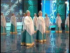 Оренбургский пуховый платок - Оренбургский хор