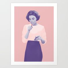 Buy Twin Peaks Art Print by paolawiciak. Worldwide shipping available at Society6.com. Just one of millions of high quality products available.
