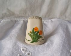 Vintage Thimble Signed Numbered Universal Studios by cynthiasattic, $25.00