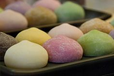 How to Make Mochi Ice Cream / I love these things, I had them in Thailand and they are amazing!!