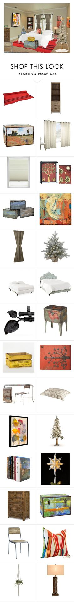 """""""After Joe & Maria Left, Ari Set to Work Arranging Her Room…Jose, at Last the Hero, Moved Things Wherever Ari Requested…She Changed Her Mind Several Times, on Purpose, But Decided it Was Done Shortly After He Hammered His Thumb Hanging Up Her Plant"""" by maggie-johnston ❤ liked on Polyvore featuring interior, interiors, interior design, home, home decor, interior decorating, NOVICA, Home Decorators Collection, Sun Zero and Pottery Barn"""