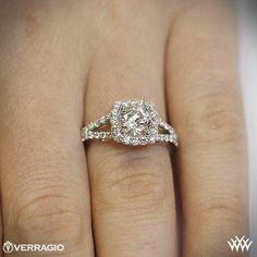 94 Best Halo Engagement Rings Images On Pinterest Jewelry Rings