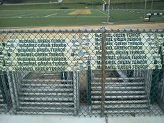 Westminster Maryland Online: The hurdles at the McDaniel College Gill Stadium huddle on summer vacation