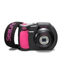"""SeaLife DC1400 14MP Digital Underwater Camera, 3"""" Color LCD, 5x Optical Zoom, 20MB Internal Memory - Pink Edition by SeaLife. $499.95. The SeaLife's DC1400 Pink Edition 14-megapixel camera combines diver-friendly design and six underwater color modes for sharp, colorful photos and HD video - underwater or on land. The SeaLife DC1400 is the easiest digital camera to use underwater, EVER. The camera features five widespread """"piano key"""" controls, a large shutter button an..."""