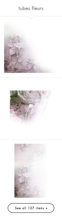 """""""tubes fleurs"""" by perla57 ❤ liked on Polyvore featuring purple, tubes, overlay, borders, picture frame, backgrounds, effects, flowers, faded and texture"""