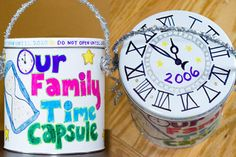 Family Time Capsule, New Years Crafts