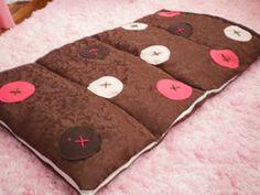 DIY Kids Indoor Sleeping Bag | Ruffles And Stuff