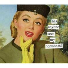 Anne Taintor napkins, Hormones