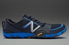 New Balance - Mens Running Shoes - Blue-Black