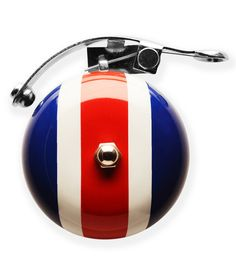 Add a dash of functional style to your bike with this vivacious bell. It features a loud design and steel construction, bringing a fun flourish to your daily commute. Cool Bike Accessories, Racing Stripes, Cool Bikes, Color Splash, Red, Prints, Paint Splats