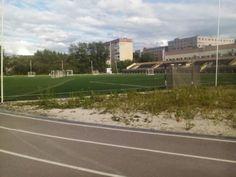 Стадион Урал в районе ВТУЗ-городка.