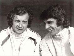 Jean-Pierre Beltoise and François Cevert