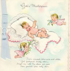 14 best vintage greeting cards images on pinterest new baby