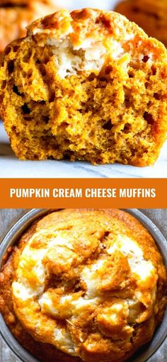 These Pumpkin Cream Cheese Muffins are moist and packed with pumpkin spice flavor. Make pumpkin cream cheese muffins at home that are better than the coffee shop!