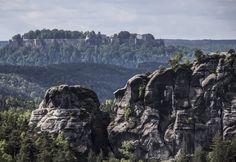 Königstein, die schönste Felsenburg in Deutschland