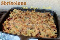 Sbrisolona patate funghi e pancetta blog il mio saper fare