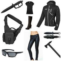 Zombie Apocalypse Gear Guide - Lady Nightrider