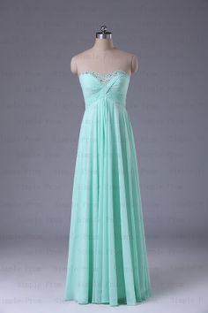 A-line Sweetheart Floor-length Sleeveless Chiffon Popular Long Prom Dress Bridesmaid Dress Evening Dress Party Dress 2013 With Sequins