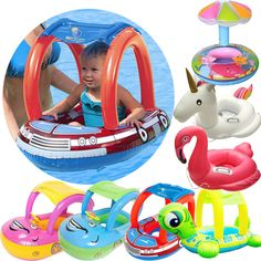 There is no doubt that this float seat boathelp you to have more fun with your baby in the pool during the summer. -A lower center of gravity, two smooth leg hole and back seat for greater comfort and stability in the water. | eBay!