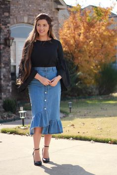 Take advantage of our year end sale! Our Aria skirt is available now!