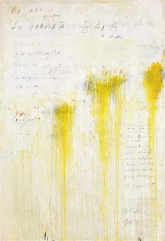 Cy Twombly Art, Cy Twombly Paintings, Abstract Expressionism, Abstract Art, Modern Art, Contemporary Art, Illustration Art, Illustrations, Mellow Yellow