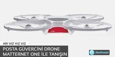 Posta güvercini Drone Matternet One ile tanışın   Teknolojik Hayat