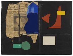 Fondation Le Corbusier - Dessins & Papiers collés - Composition avec photo de la bombe H